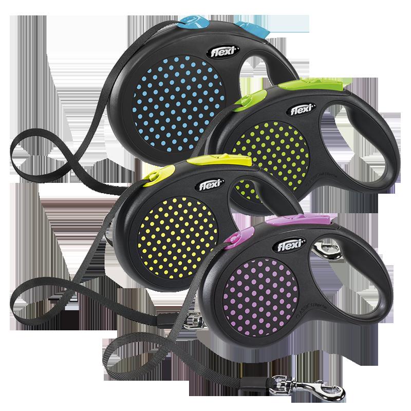Flexi Design Поводок-рулетка ременная
