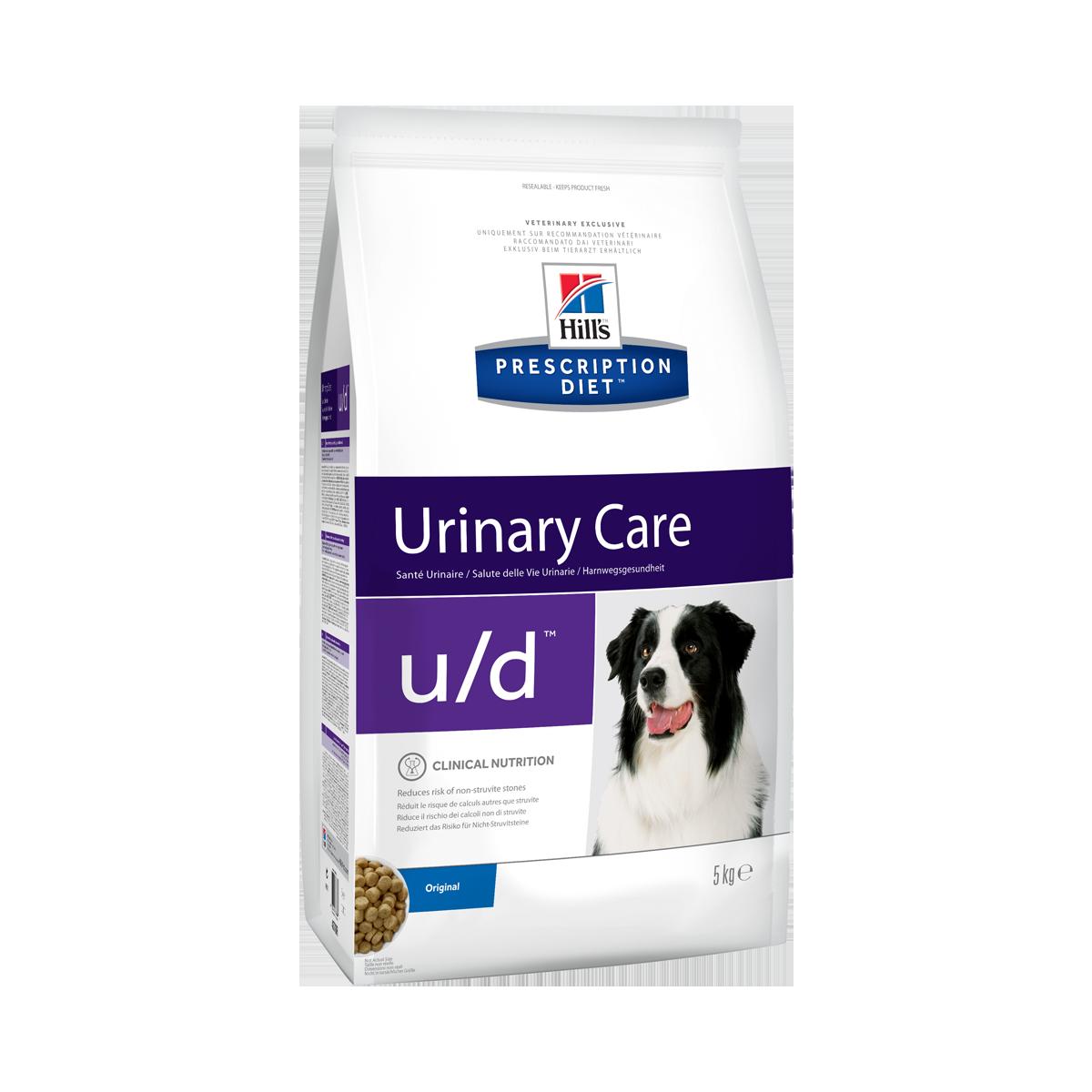 Hill's PD u/d корм-диета для собак при хронической болезни почек и мочекаменной болезни