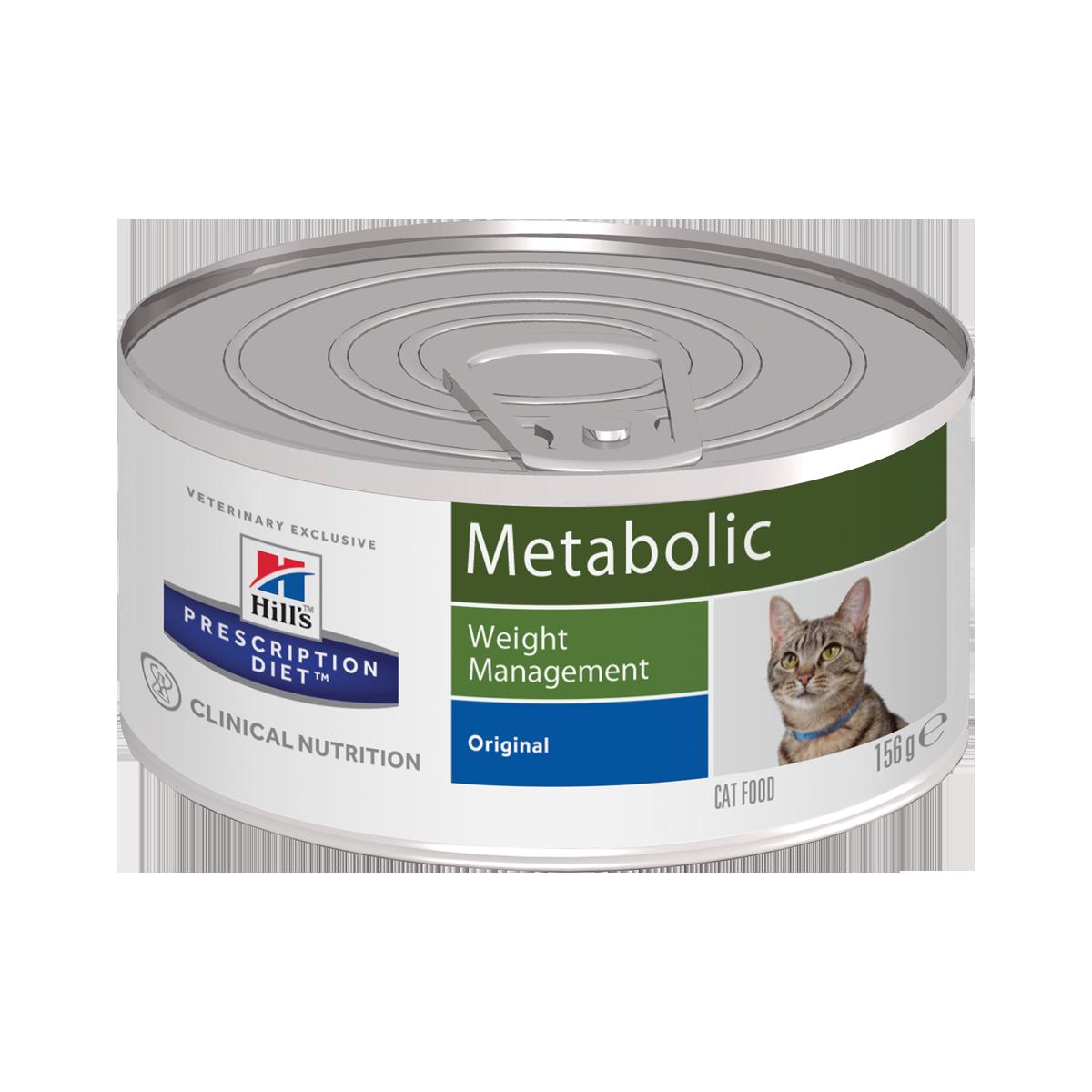Hill's PD Metabolic Консервы-диета для кошек при избыточном весе и ожирении