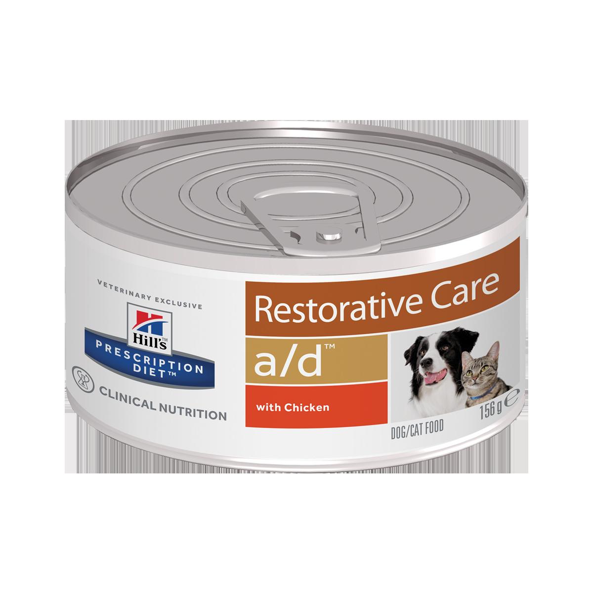 Hill's PD a/d Консервы-диета для кошек и собак в период выздоровления и восстановления