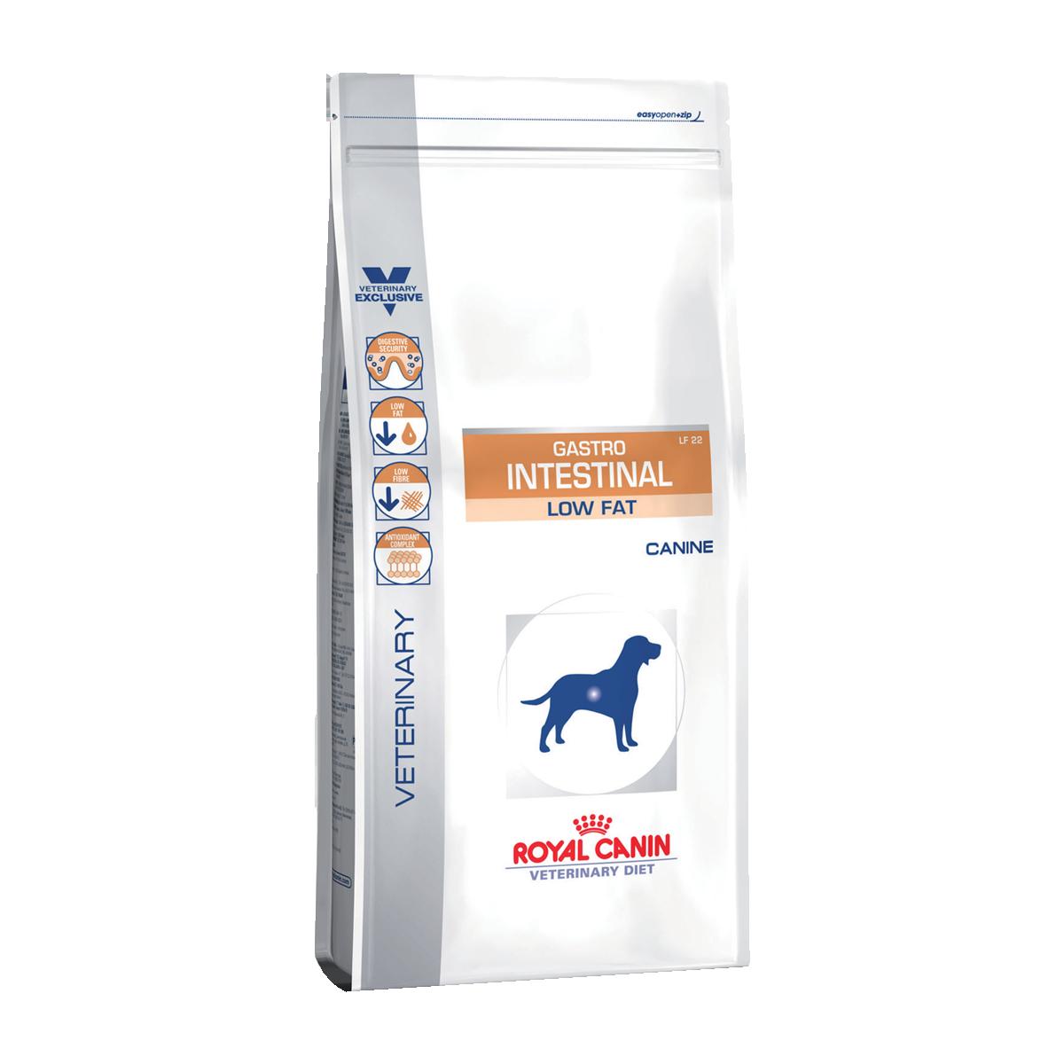 Royal Canin Gastro Intestinal Low Fat Корм-диета с ограничением жиров при нарушении пищеварения