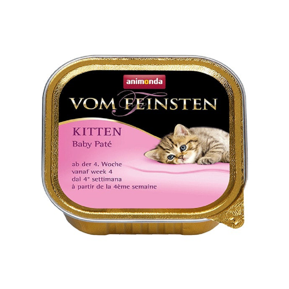 Vom Feinsten консервы для котят 4-16 недель паштет с мясом и рыбой