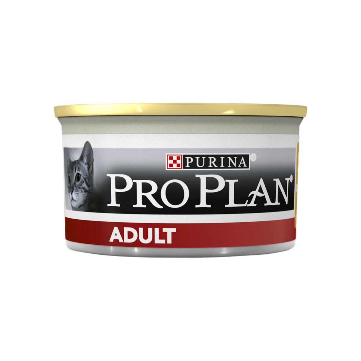 Pro Plan Консервы для взрослых кошек, паштет с курицей