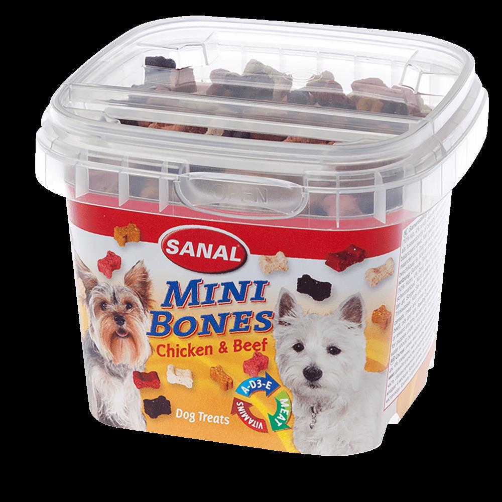SANAL Mini Bones Мини косточки для собак (цена за 1 коробку)