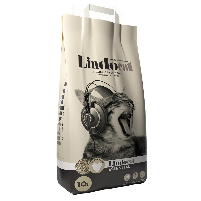 Lindocat Essential Наполнитель минеральный впитывающий