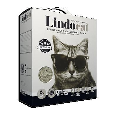 Lindocat Active Plus Наполнитель минеральный комкующийся