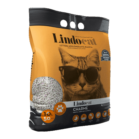 Lindocat Charme Наполнитель минеральный комкующийся