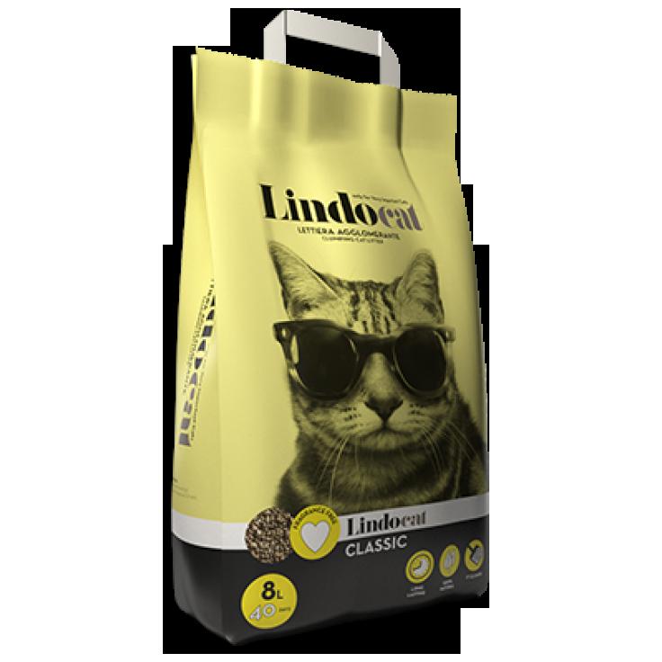 Lindocat Classic Наполнитель минеральный комкующийся