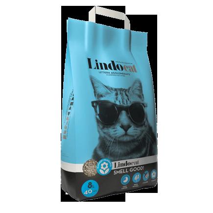 Lindocat Smell Good Наполнитель минеральный комкующийся