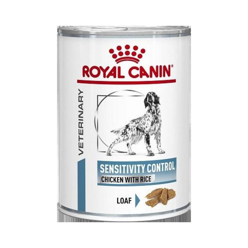 Royal Canin Sensitivity Control Консервы-диета для собак с чувствительным пищеварением, с курицей