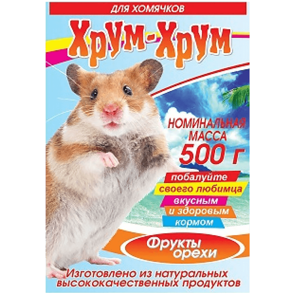 Хрум-хрум кормовая смесь для хомячков