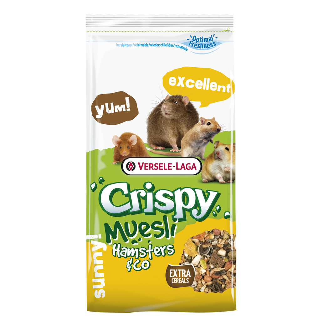 Versele-Laga Crispy мюсли для хомяков
