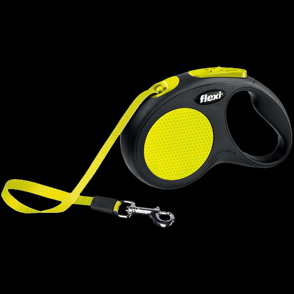 Flexi Neon Поводок-рулетка ременная