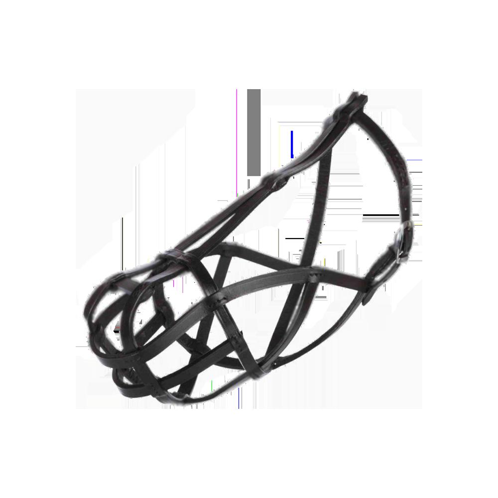 TRIXIE Намордник для собак Bridle Leather, размер L