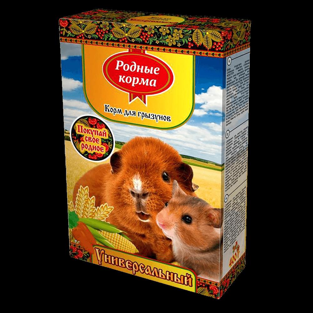 Родные корма корм для грызунов универсальный
