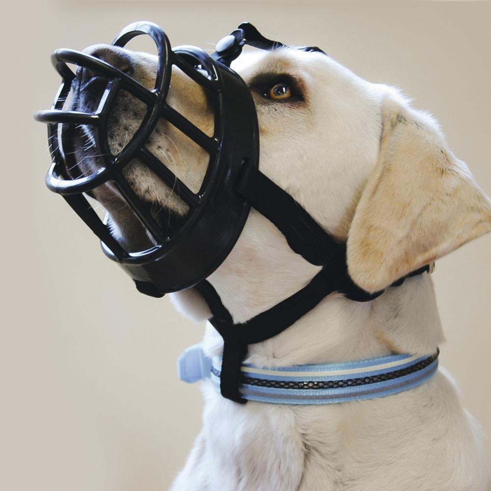 Beeztees Намордник для собак черный, размер 4