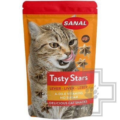 SANAL Soft Sticks Turkey & Liver палочки для котов с индейкой и печенью (цена за 3 палочки)