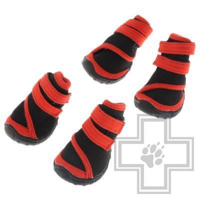 Triol Ботинки, черные с красным