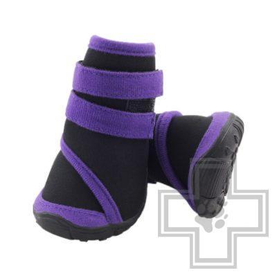 Triol Ботинки, черные с фиолетовым