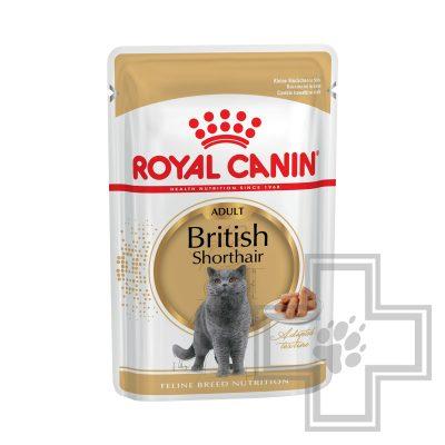 Royal Canin British Shorthair Пресервы для кошек британской короткошерстной породы