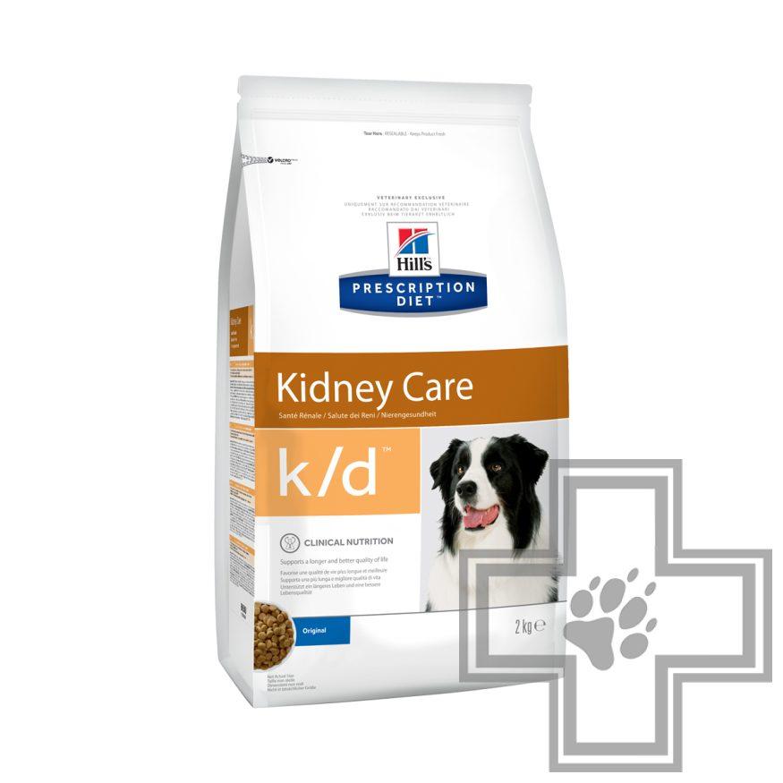Hill's PD k/d Корм-диета для собак при сердечной недостаточности и заболеваниях почек