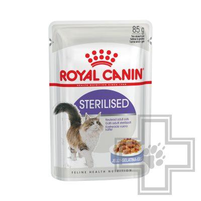 Royal Canin Sterilised Пресервы в желе для взрослых стерилизованных кошек