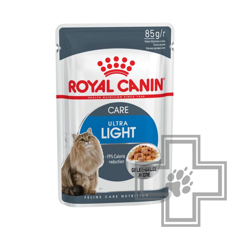Royal Canin Ultra Light Пресервы в желе для кошек, склонных к полноте