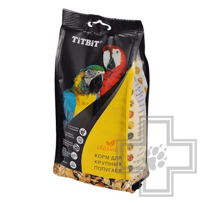 TiTBiT корм для крупных попугаев
