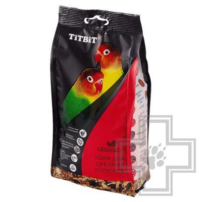 TiTBiT корм для средних попугаев