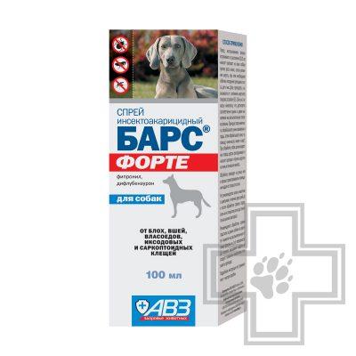 Барс Форте Спрей инсектоакарицидный для собак
