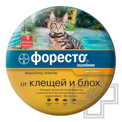 Foresto Ошейник от блох и клещей для кошек