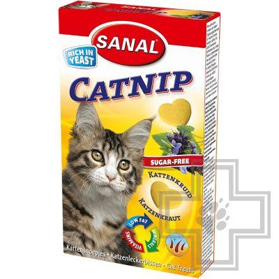 SANAL Catnip Лакомство с кошачьей мятой для кошек