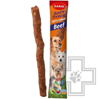 SANAL Soft Sticks Beef Палочки для собак с говядиной (цена за 1 палочку)