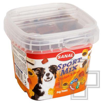 SANAL Sport Mix Лакомство для активных собак (цена за 1 коробку)