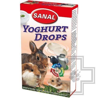 SANAL Yoghurt Drops йогуртные дропсы для грызунов