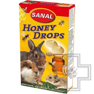 SANAL Honey Drops медовые дропсы для грызунов