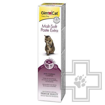 GimCat Malt Soft Paste Extra Паста для выведения комков шерсти для кошек