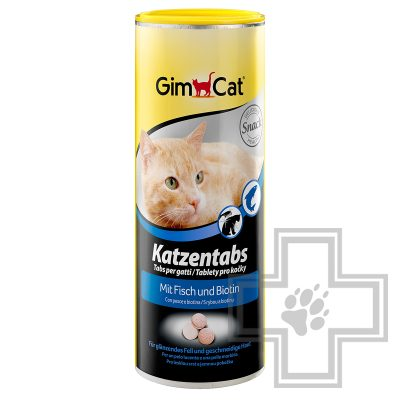 GimCat Katzentabs mit Fisch Витамины с рыбой для кошек