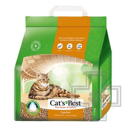 Cat's Best Comfort Наполнитель древесный впитывающий