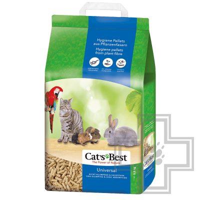 Cat's Best Universal Наполнитель древесный впитывающий