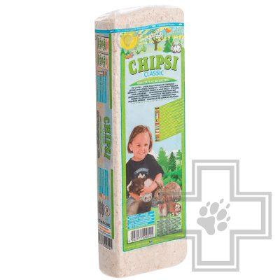 CHIPSI Classic наполнитель древесный впитывающий для грызунов