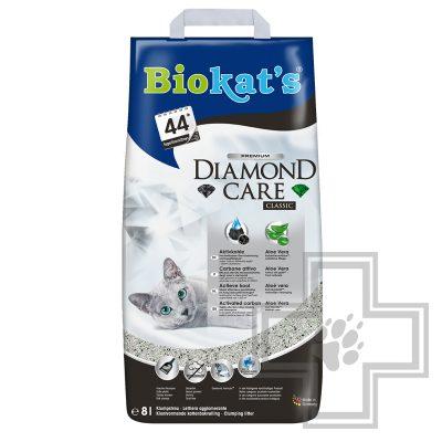 Biokat's Diamond Care Classic Наполнитель минеральный комкующийся