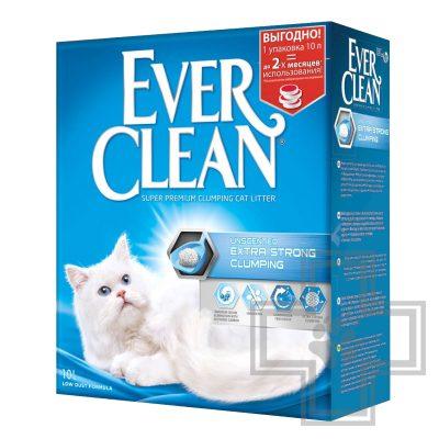 Ever Сlean Extra Strong Clumping Unscented Наполнитель минеральный комкующийся, без запаха