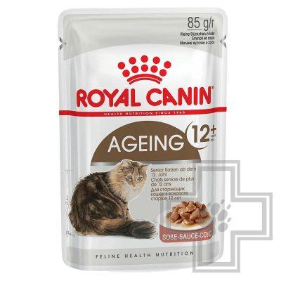 Royal Canin Пресервы в соусе для взрослых кошек старше 12 лет