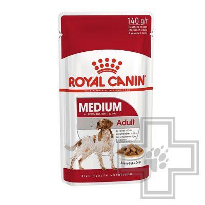 Royal Canin Пресервы для взрослых собак средних пород в соусе