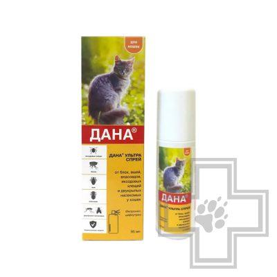 Дана Ультра противопаразитарный спрей для кошек