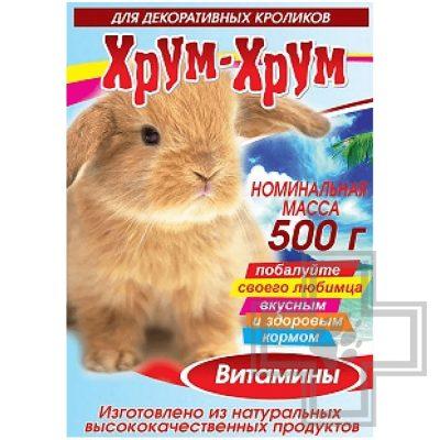 Хрум-хрум кормовая смесь для декоративных кроликов