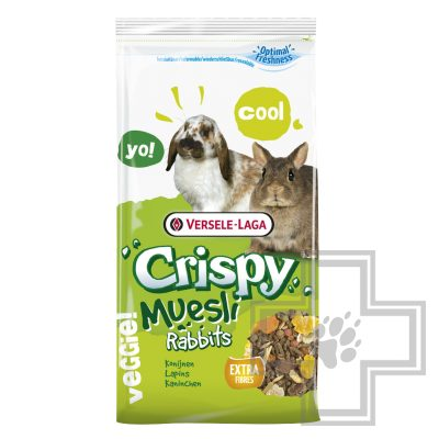 Versele-Laga Crispy мюсли для кроликов