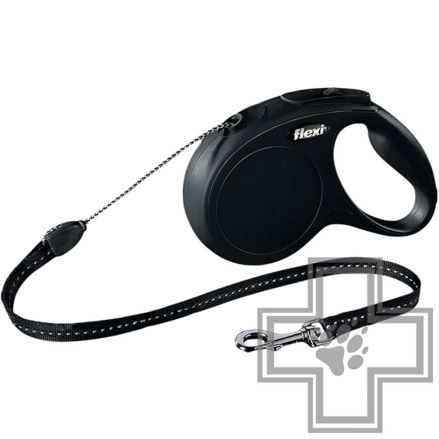 Flexi New Classic Поводок-рулетка тросовая