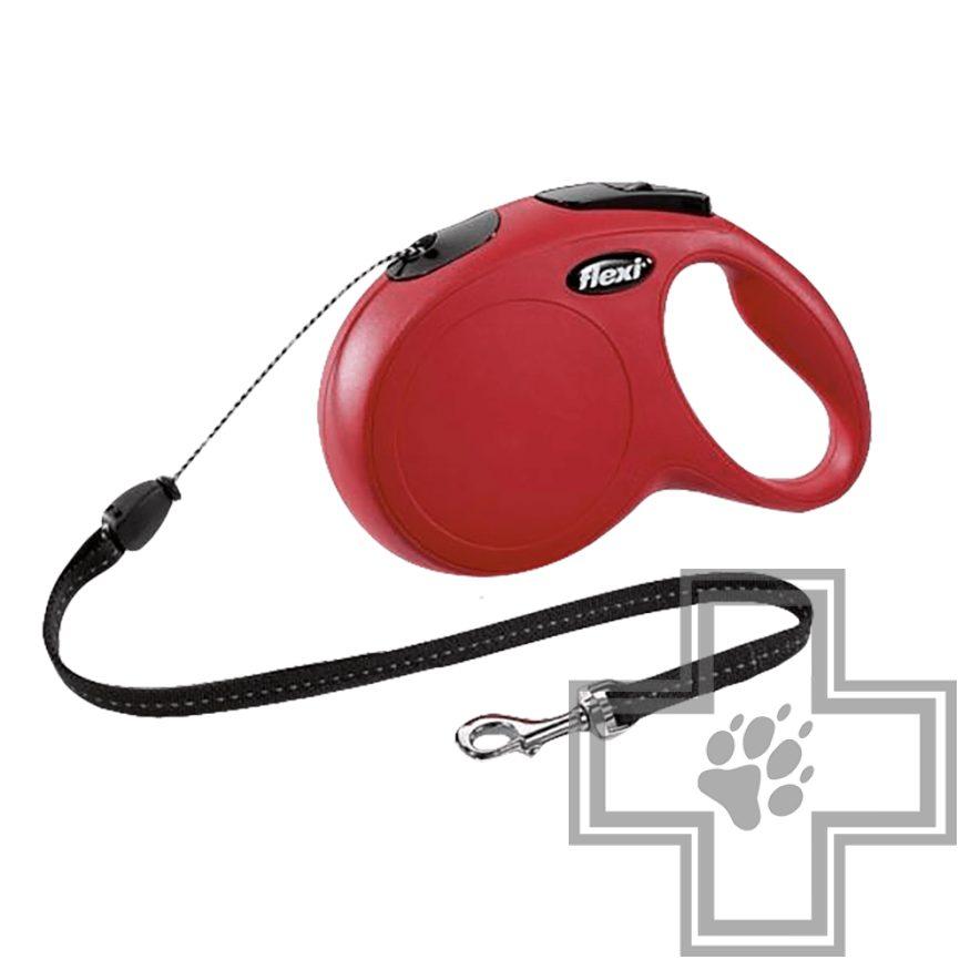 Flexi New Classic Поводок-рулетка тросовая для кошек